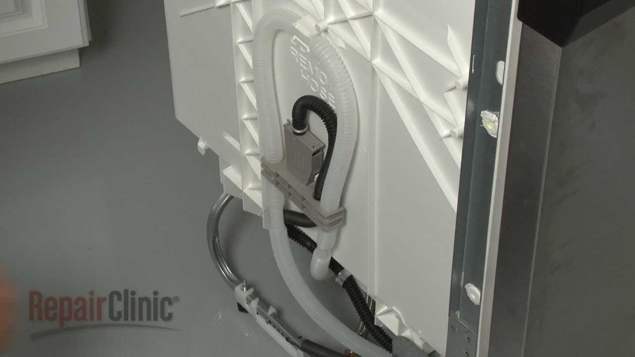 Whirlpool Dishwasher Drain Loop Hose W10545278  YouTube