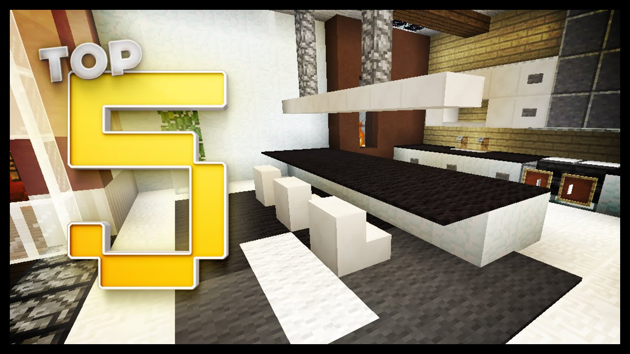minecraft modern kitchen ideas