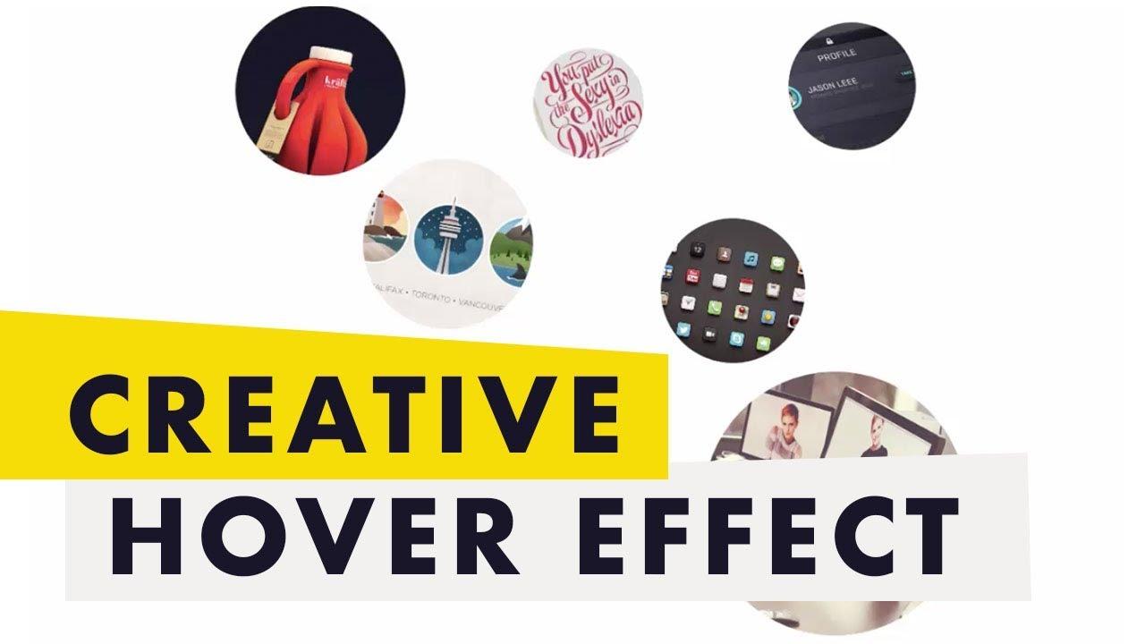 Pure CSS3 Amazing Hover Effect - Web Design Tutorial
