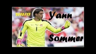 Yann Sommer ► The Wall of Switzerland ● Amazing Saves 2016/17