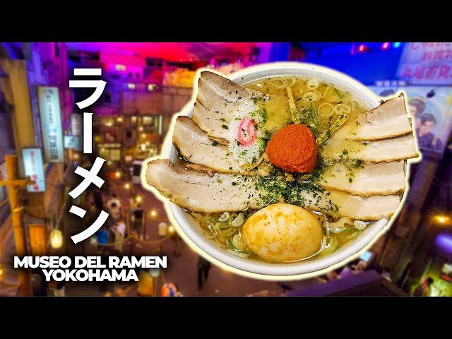 RAMEN AL MUSEO DEL RAMEN DI YOKOHAMA - MESE DEL RAMEN Ep. 1