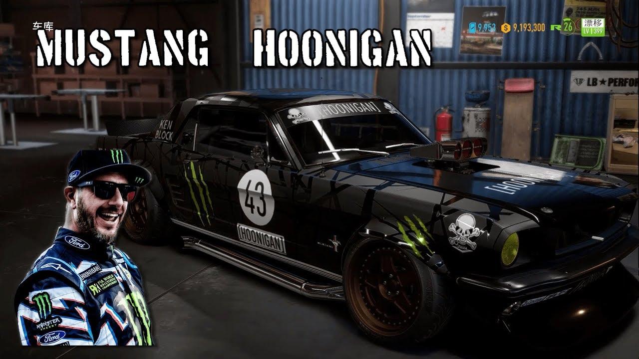 Ken Block Hoonigan Mustang Video