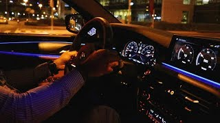 NEW 2019 BMW M5 F90 Competition NIGHT POV Test Drive - Cold Start & Exhaust Sound