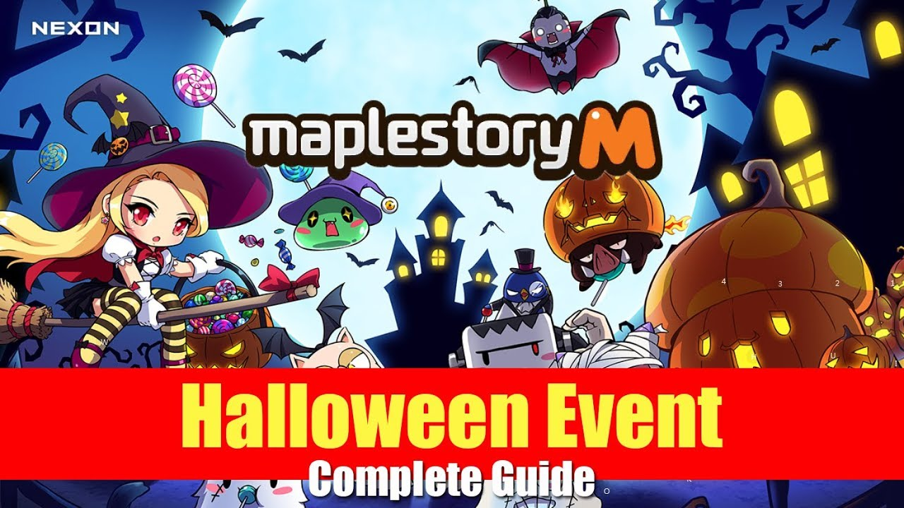 Maplestory Halloween Events 2020 Maplestory m   Halloween Event Guide and Giveaway   YouTube