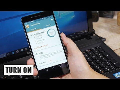 Kabelloser Datenaustausch zwischen Android-Smartphone & PC: So geht's ohne Cloud
