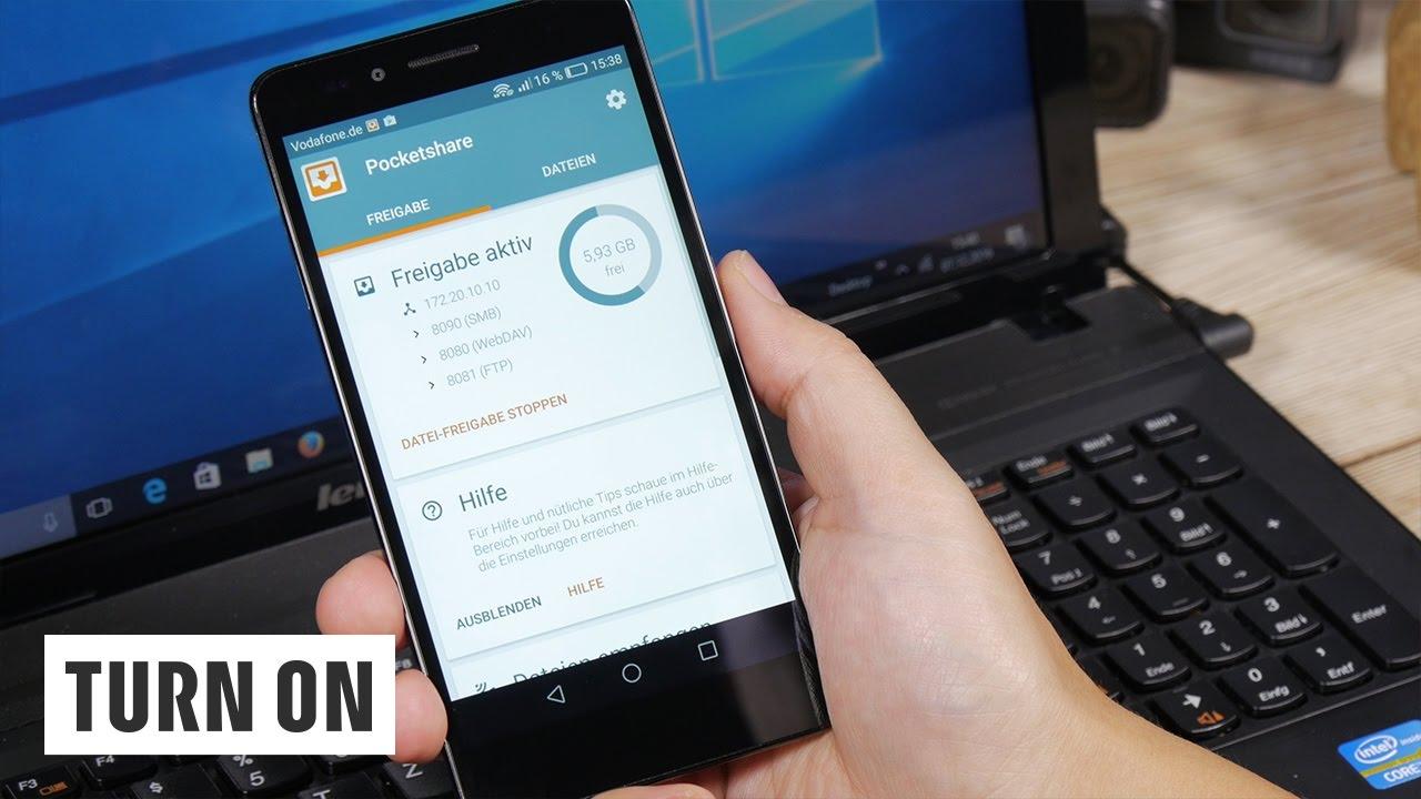 Kabelloser Datenaustausch Zwischen Android Smartphone Pc So Geht S Ohne Cloud Youtube