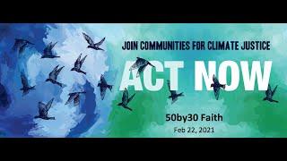 50by30 Faith event (Feb 22, 2021)