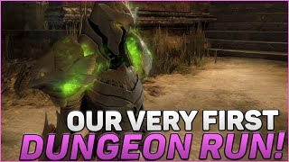Guild Wars 2 Gameplay 2016-2017 | Our First Dungeon!