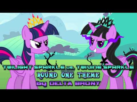 Twilight Sparkle vs. Twivine Sparkle (Round One Theme)