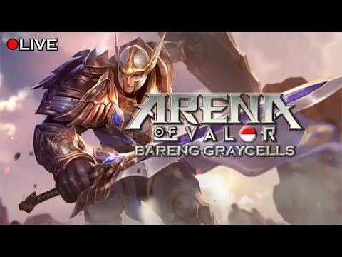 JOIN ME AND HAVE FUN !!    Arena of Valor (AoV) livestream Indonesian/English Chat