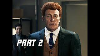 MARVEL'S SPIDER-MAN Walkthrough Part 2 - Norman Osbourne (PS4 Pro 4K Let's PLay)