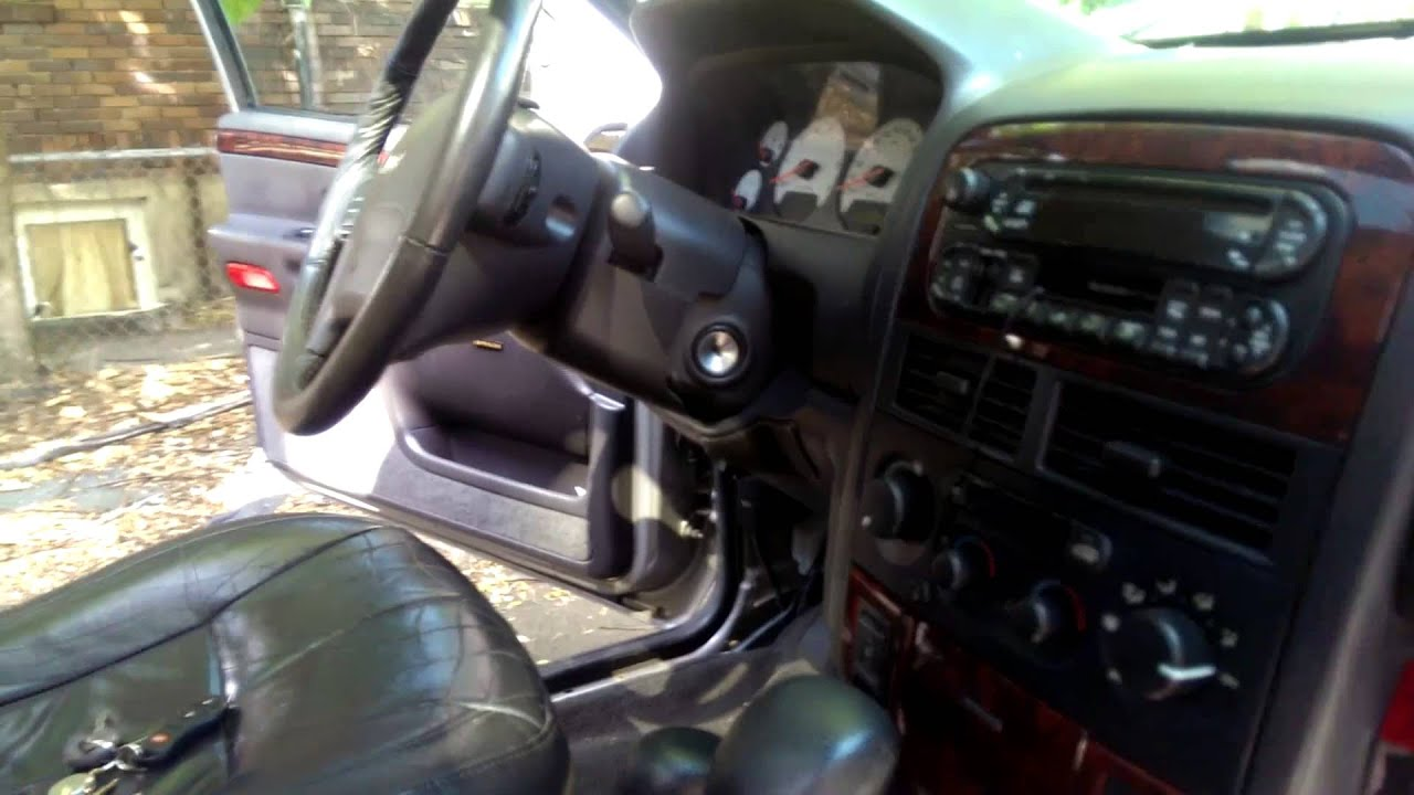 99 - 04 jeep grand cherokee: how to remove dashboard and replace