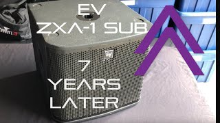 The perfect small event subwoofer? | EV ZXA-1 after years of use.