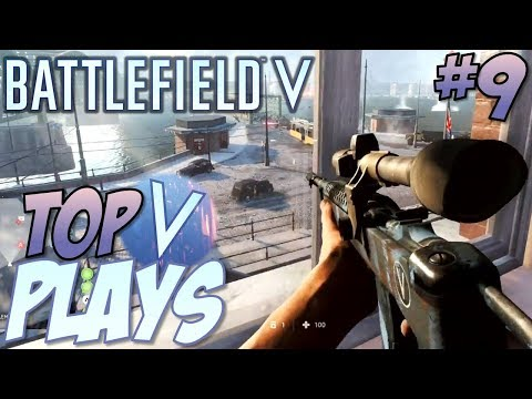 Battlefield 5 - Top 10 Plays #9 (BFV Multiplayer Gameplay Montage) thumbnail