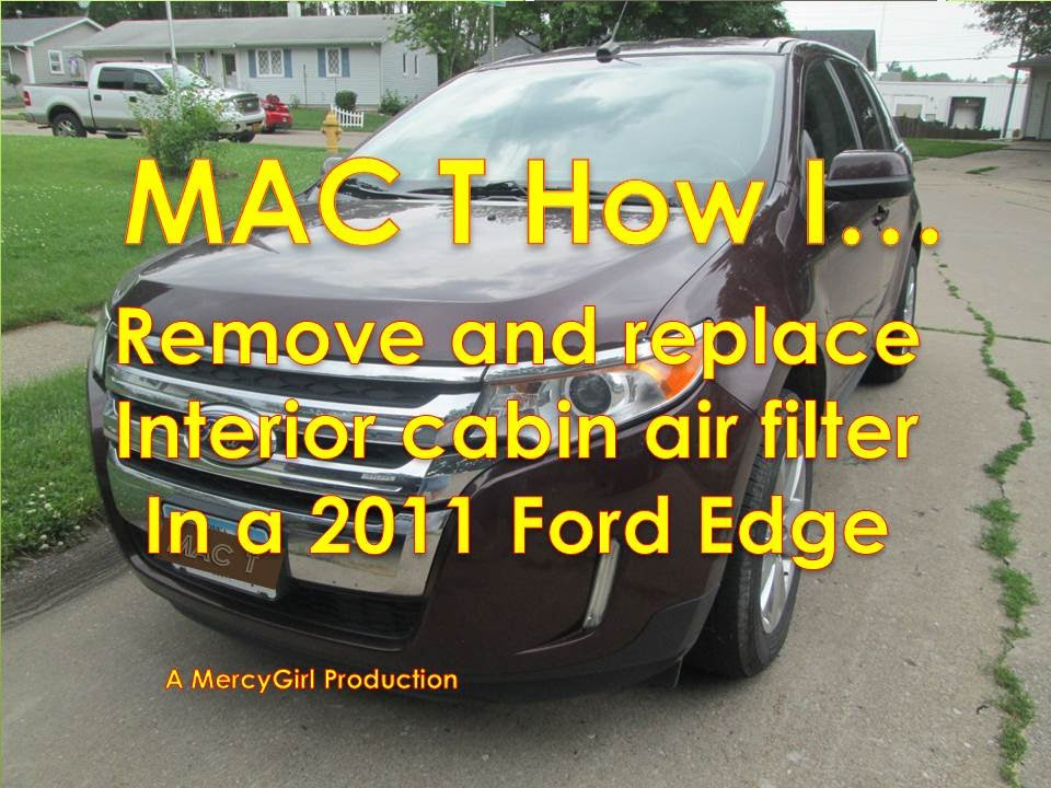 Ford Edge Cabin Air Filter Removal And Installation In  Minutes