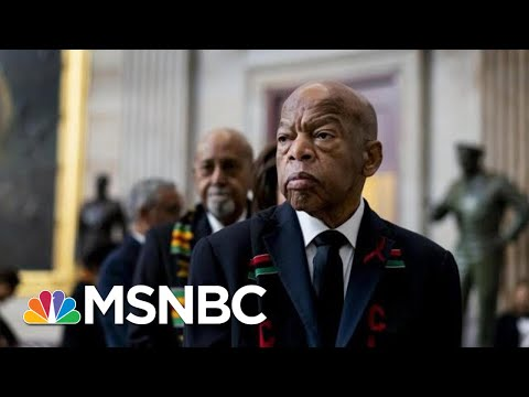 Rep. John Lewis makes Final Trip To U.S. Capitol | Morning Joe | MSNBC