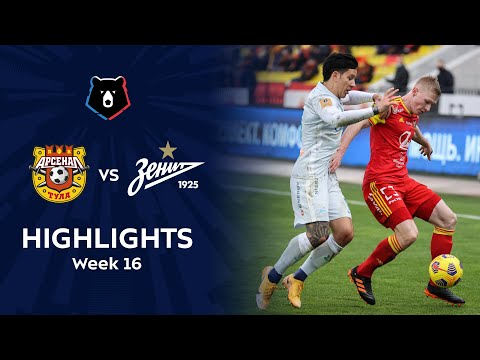 Arsenal Tula Zenit Petersburg Goals And Highlights