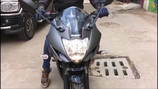 2017 suzuki gixxer sf (special edition) bs4 & aho full review