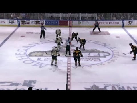 Gibbons Highlight Reel Goal in AHL Playoffs