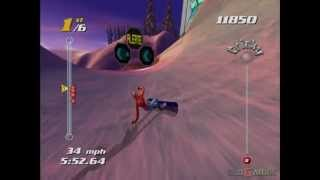 SSX Tricky - Gameplay Xbox HD 720P