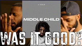 """J COLE """"MIDDLE CHILD"""" 