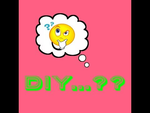 what is DIY !!! DIY meaning in Telugu... what does DIY stands for !!! DIY meaning in telugu