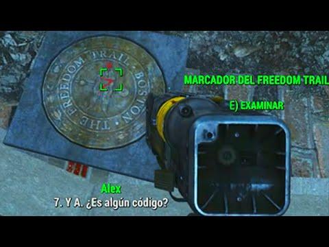"""Fallout 4: Como Encontrar el """"Freedom Trail/Camino Hacia la Libertad"""" y al Ferrocarril (Facción)"""