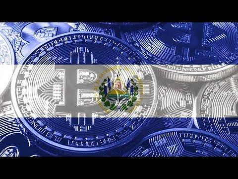 El Salvador reconhece bitcoin como moeda e valor dispara