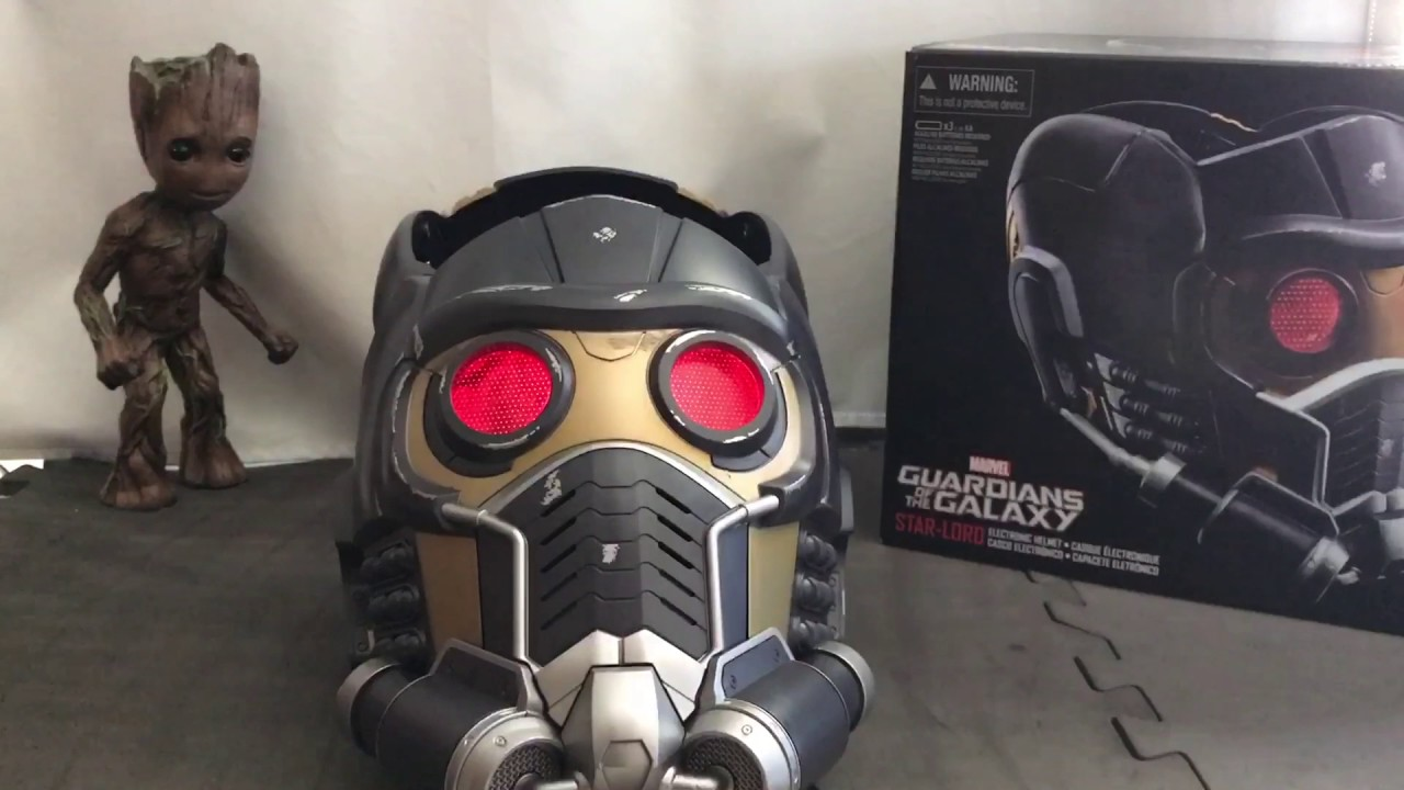 Marvel Legends Star Lord Helmet Unboxing Youtube
