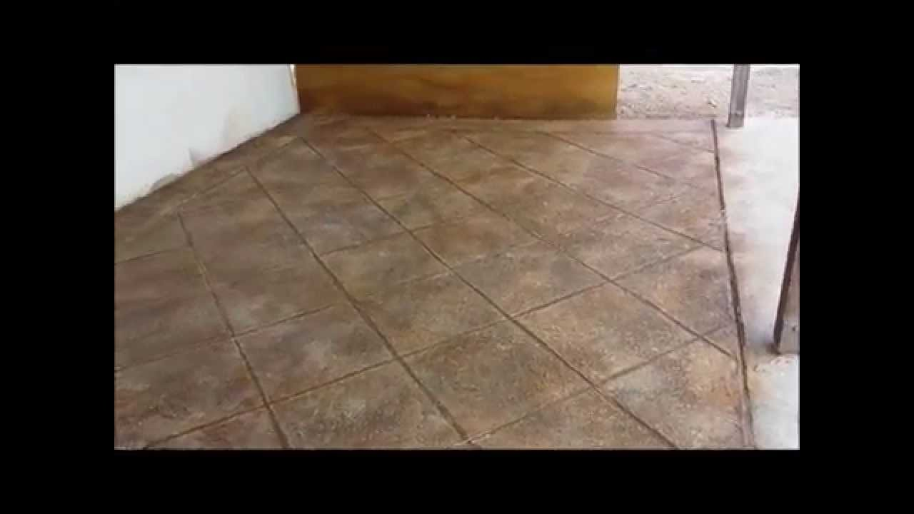 How To Pour A Concrete Skim Coat Overlay