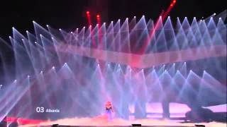 Eurovision 2012 (Grand Final) Albania - Rona Nishliu - Suus