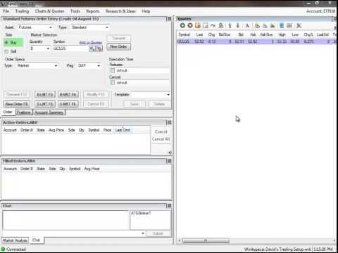 Emini S&P Trading Secret Help Setting Up Trading Software