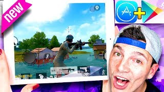 PUBG *OFFICIAL* MOBILE Battle Royale GAME! iOS / Android Gameplay!