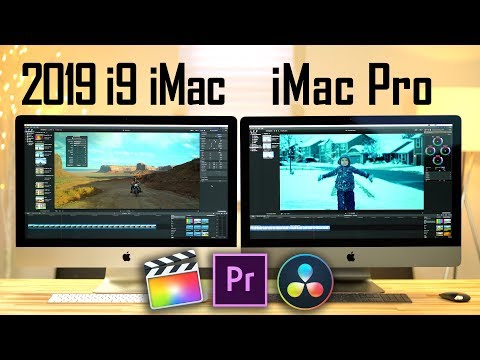 2019-i9-imac-vs-imac-pro---video-editing-comparison!