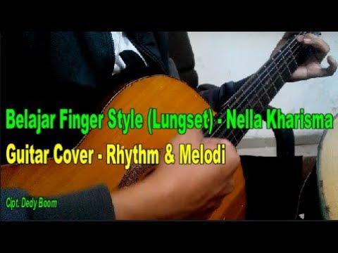 Belajar Finger Style (Lungset) - Rhythm & Melodi
