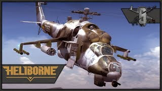ATGM'ing Enemy Helicopters - Heliborne - USSR Gen 2 PvP - First Time Multiplayer!