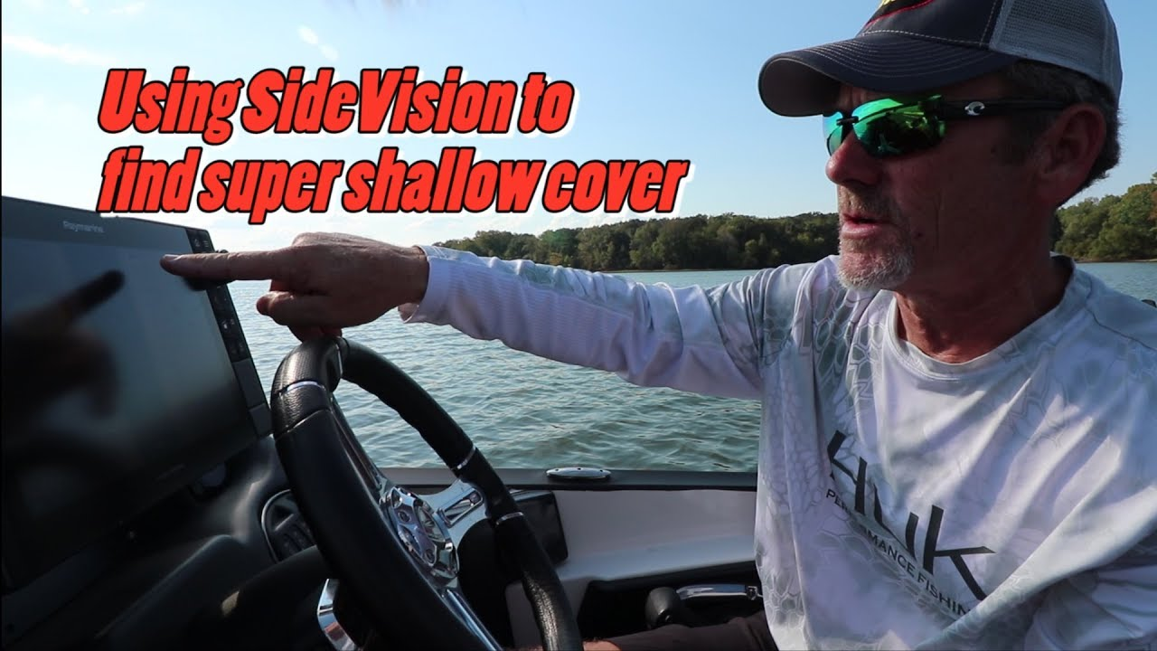 Using SideVision to find super shallow cover featuring pro ...