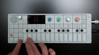 OP-1 Multitrack Beat session