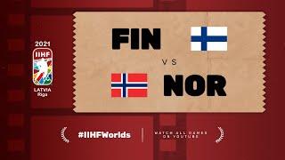 Highlights: FINLAND vs NORWAY | 2021 #IIHFWorlds