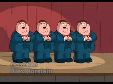 four peters family guy