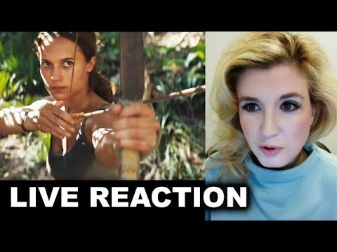 Tomb Raider Trailer REACTION