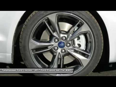 2017 Ford Fusion Tallahassee FL 198805