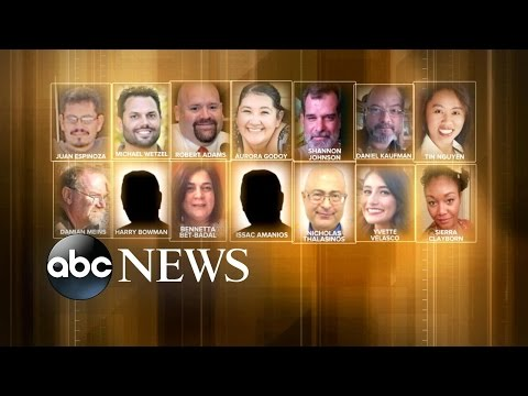 14 Victims in San Bernardino Shooting Identified