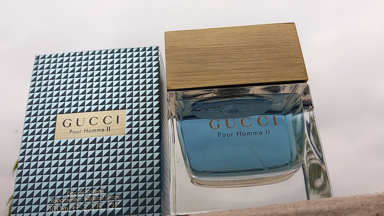 cd753f0419be Gucci Pour Homme 2 Review (EDT) (2007) - YouTube