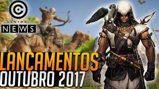 Baixar JOGOS LANÇAMENTOS OUTUBRO 2017 | Central News