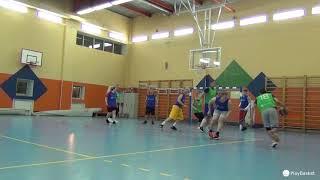 Смотреть видео PlayBasket. Видеообзор 25.03.2019 (Метро Достоевская). Любительский баскетбол в Москве онлайн