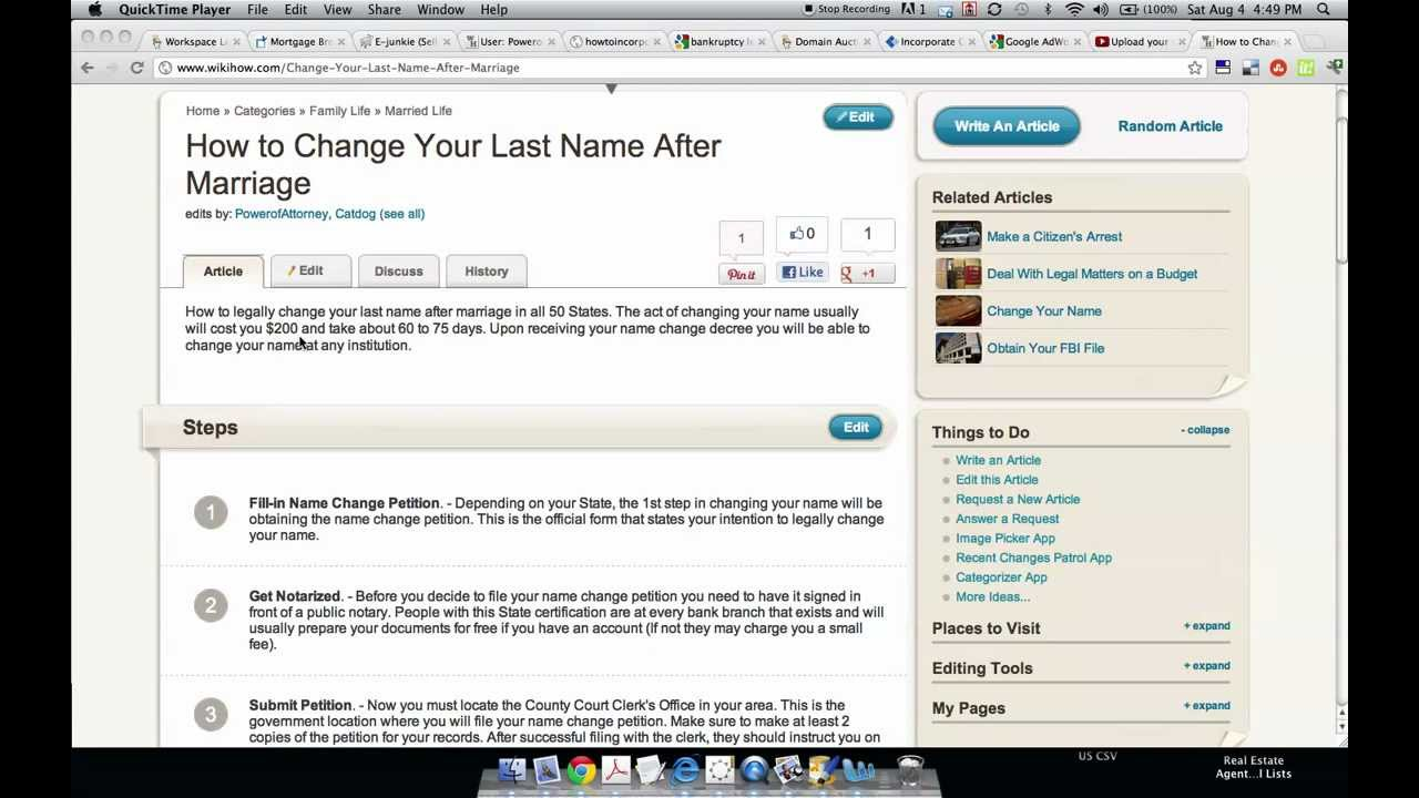 How to change your last name after marriage youtube aiddatafo Image collections