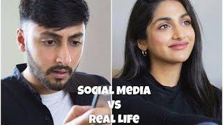 Social Media vs. Real Life