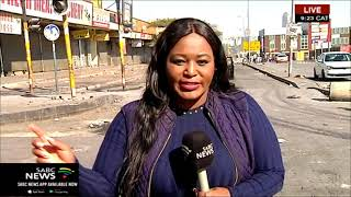 UPDATE: Shops remain closed post looting, violence