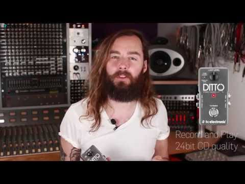 Ditto Stereo Looper - official product video music